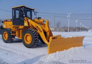 Snow Blade Loader Front Mounted, 4 Wheel Driving, 97KW Diesel Engine