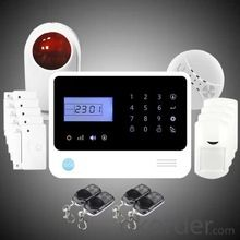 stem security, GSM SMS security alarm system for home security, house anti theft alarm system  CNBM