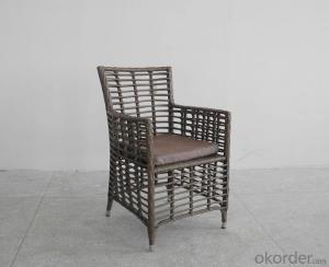 Patio Wicker Outdoor Rattan Single Chair for Garden use Furniture