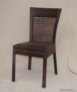 Outdoor Rattan Single Table with Chair for Garden CMAX-SC011