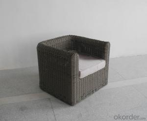 Patio Wicker Furniture Outdoor Rattan Single Chair for Garden use