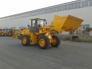 Pilot Control Wheel Loader 3t Payload, LW300f, 3Ton Wheel Loader