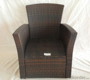 Patio Wicker Outdoor Rattan Single Chair for Garden CMAX-SC001