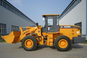 3 Ton Wheel Loader with 6BT Diesel Engine and CE, LW350 Model