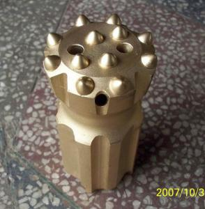 hemispherical bit thread button bit from China for hardness rock