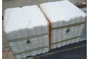 Ceramic fiber module for refractory furnace