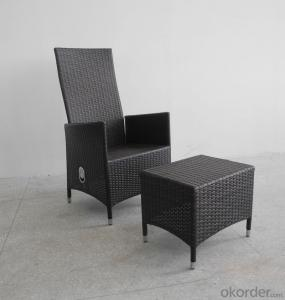 Patio Wicker Furniture Outdoor Rattan Single Chair