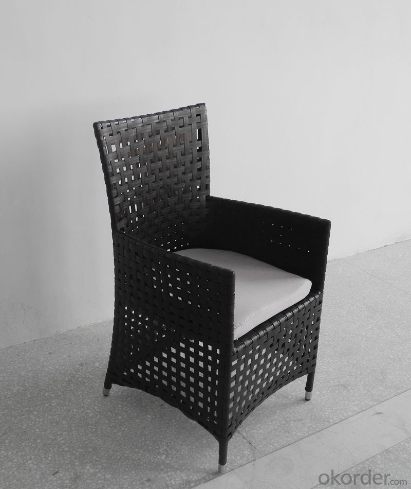 Outdoor Rattan Single Table with Chair for Garden CMAX-SC016