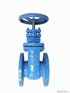 Gate Valve UL/FM Approved Flanged Resilient NRS