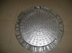 Manhole Cover  Black Square Round on Sale