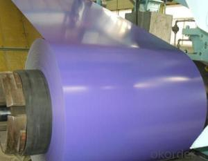 Z45 BMP Prepainted Rolled Steel Coil for Construction