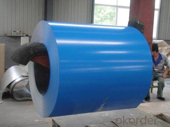 ASTM Z80 Prepainted Galvanized Rolled Steel Coil