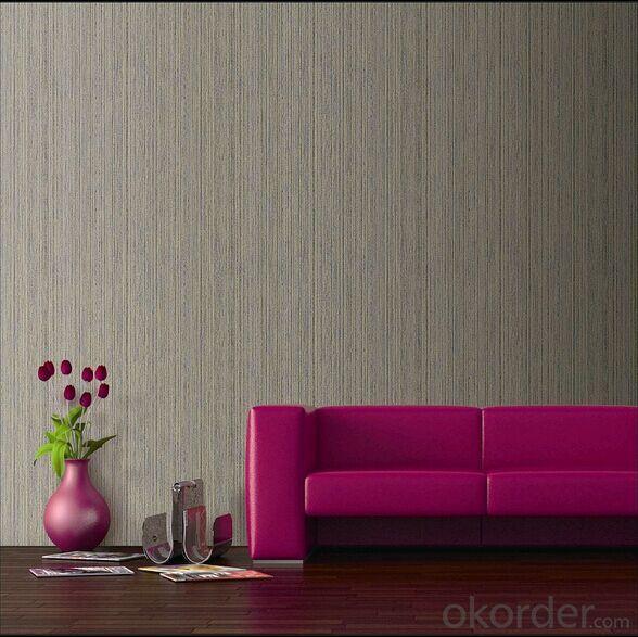 PVC Wallpaper Small String Embossing Modern Design Wallpaper