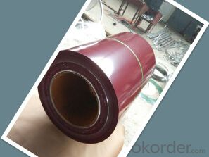 Prepainted Steel Coils with Plain or Matt Surface