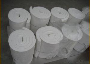 Standard form ceramic fiber blanket for industrial furnace