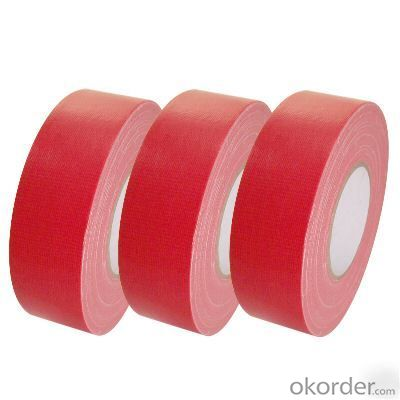 Red Cloth Tape Adhesive Cloth Tape Custom Made Factory Cloth Tape