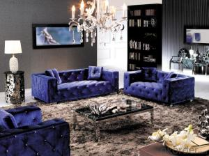 Classic Style Fabric Sofa of colorful fabric