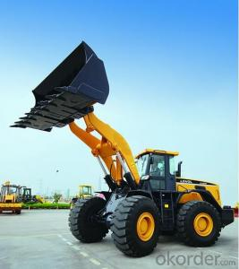 Mini Wheel Loader  YN725  0.8 Ton Bucket Capacity 0.25cbm