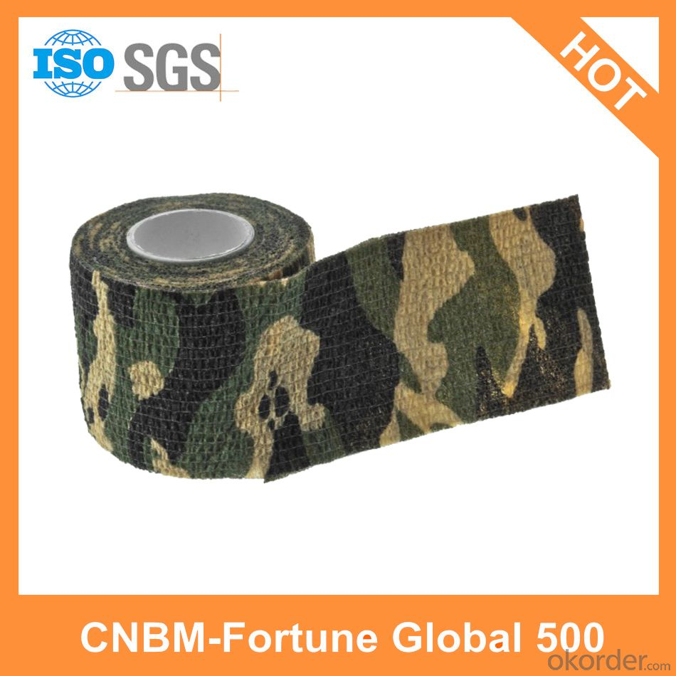Camouflage Cloth Tape Polyethylene Cloth Tape Custom Made Cloth Tape Wholesale