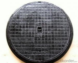 Manhole Cover  on Sale with Black Made in China of Low Price