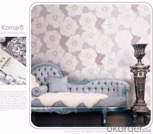 PVC Wallpaper 10 Meter Best Selling Bedroom Decoration Wallpaper