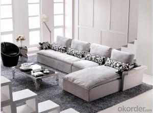 Modern Style Fabric Sofa of colorful fabric