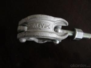 Scaffolding Coupler German Type Steel Galvanized Forged Swivel Half Coupler 48.3