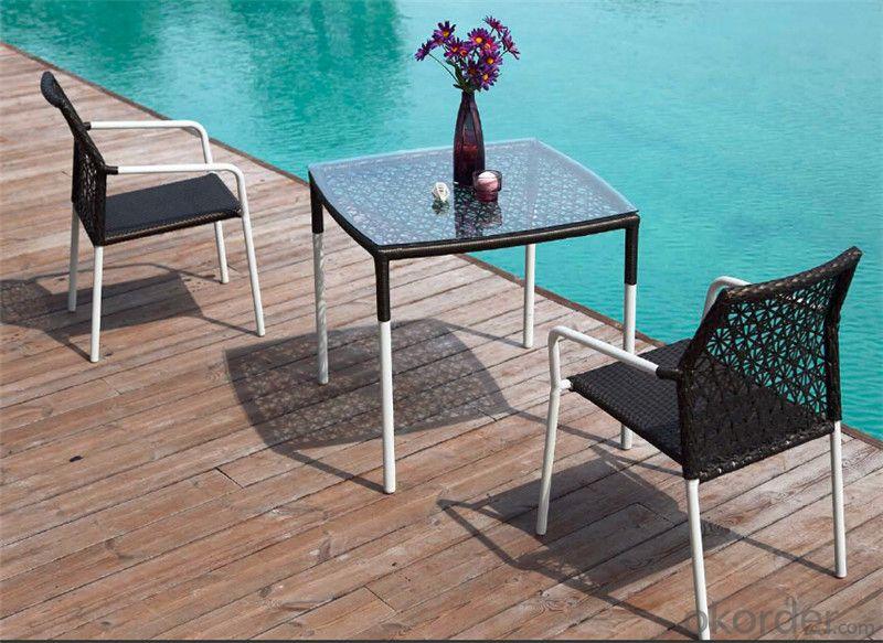Rattan Garden Set Dining Set for Outdoor Furniture Garden Patio  CMAX-DS006MYX