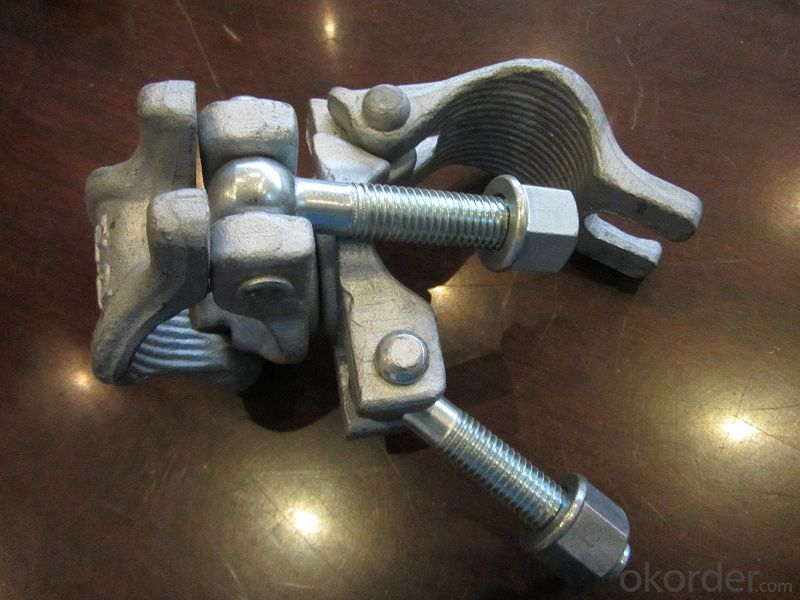 Scaffolding Coupler American  Type Steel Galvanized Forged Swivel Coupler 48.3