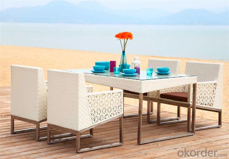 White Rattan Garden Set for Outdoor Furniture Garden Patio  CMAX-DS004MYX