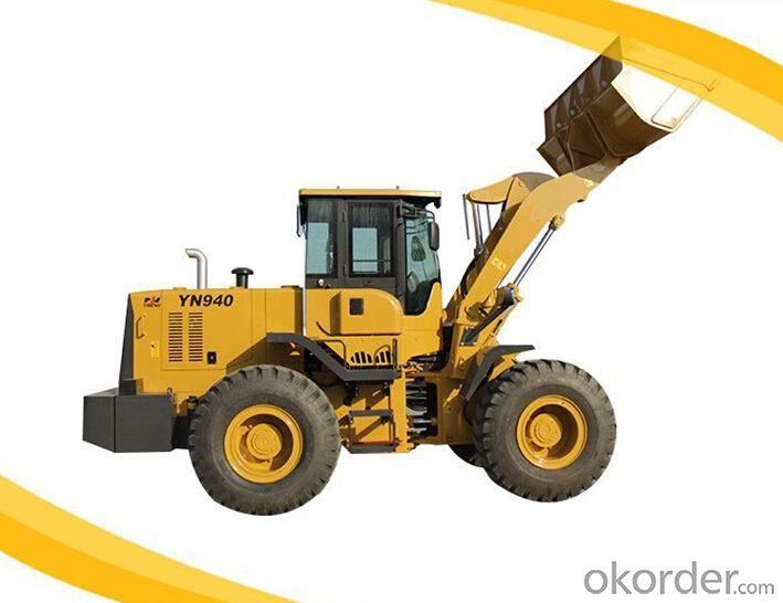 Front Wheel Loader YN 940 4 Tons 2.35cbm bucket capacity