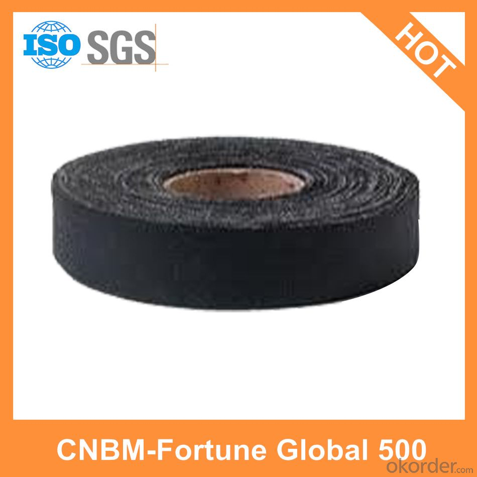 Natural Rubber Cloth Tape New Black Cloth Tape Wrapping Cloth Tape