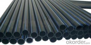 PE Pipe for Water/gas Supply Hot Sale Flexible Hdpe Water Pipe