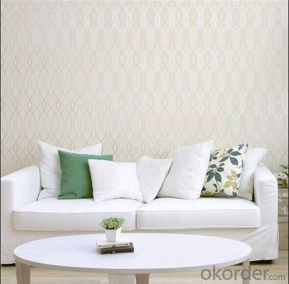 PVC Wallpaper Home Interior Soundproof Wallpaper
