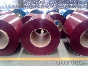Z30 Prepainted Rolled Steel Coil for Construction Roofing Constrution