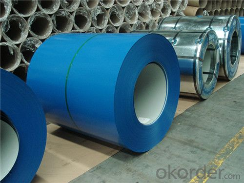 PPGI Prepainted rolled Steel Coil for Construction Roofing constrution