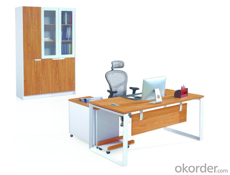 Office Table/Commerical Desk Solid Wood/MDF/Glass with Best Price CN3023B
