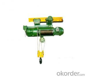 2T MD1 Steel Wire Rope Electric hoists High Quality