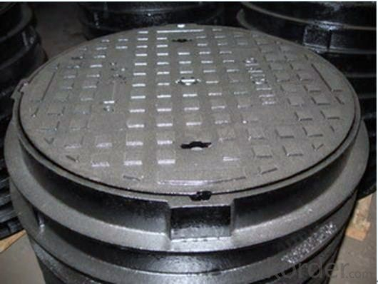Manhole Cover EN124 D400  Foundry Stock on Sale with Good Quality