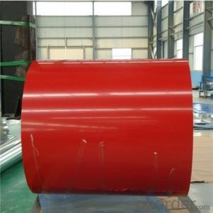 BMP 800MM Prepainted Rolled Steel Coil for Sandwich Panel