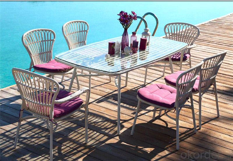 Garden Set High Class with Round Rattan  CMAX-DS002MYX