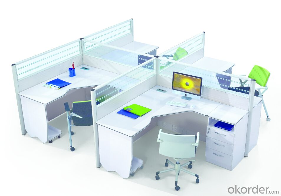Office Table/Commerical Desk Solid Wood/MDF/Glass with Best Price CN6892