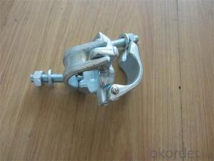 Scaffolding Coupler British Type Steel Galvanized Forged Double  Coupler 48.3