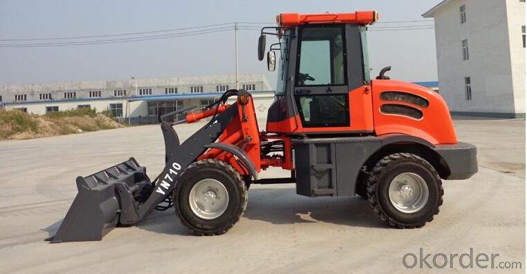 Mini Construction Machinery 708 wheel loader