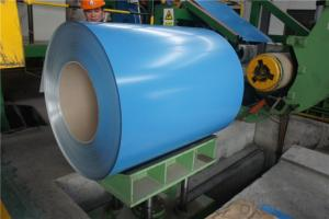 BMP Z28 PPGI Rolled Steel Coil for Roofing Constrution