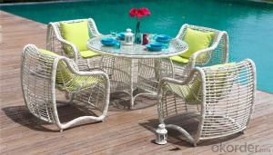 Garden Sofa 3 PCS Round Rattan for Outdoor Furniture Beach Furniture  CMAX-SS008MYX