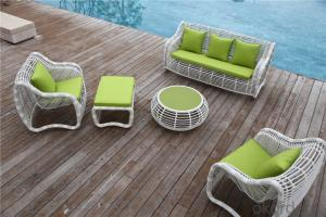 Round Rattan Garden Sofa with New Design CMAX-SS001MYX