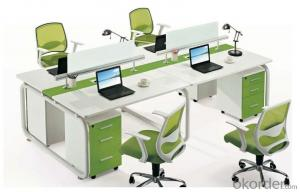Office Table/Commerical Desk Solid Wood/MDF/Glass with Best Price CN688