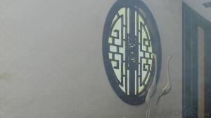 High-tech Fiberglass Wallcovering Cloth Wall Fabric 81703