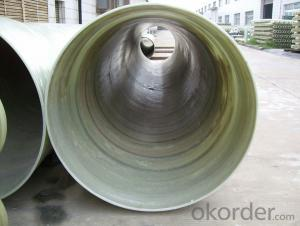 GRE pipe, FRP pipe Manufacturer Passed ISO 9001 with Good Quality